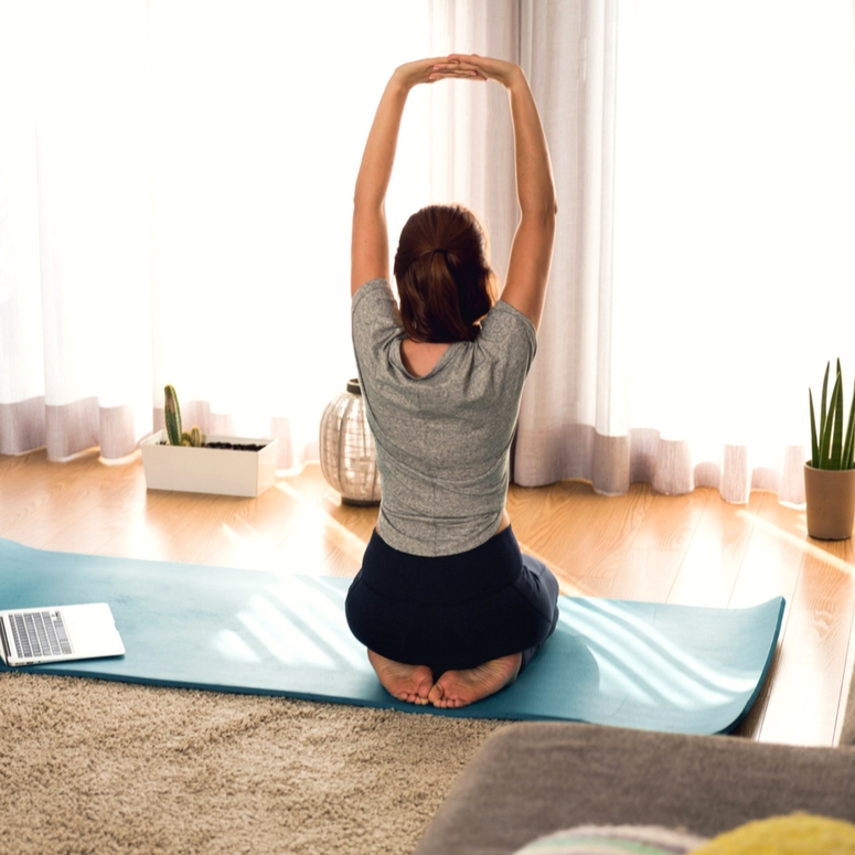 Creating a home sanctuary for meditation and yoga