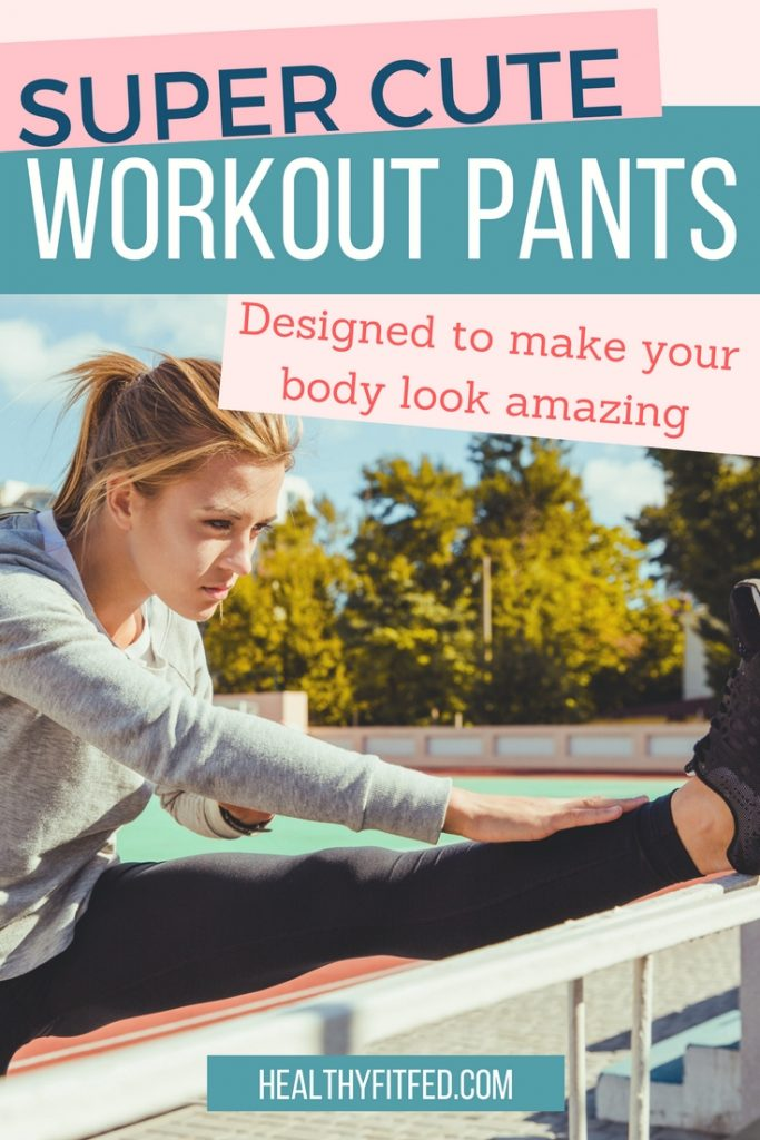 Super cute workout pants that are designed to make your body look great while you work hard to get in shape. Feel confident in your own skin!