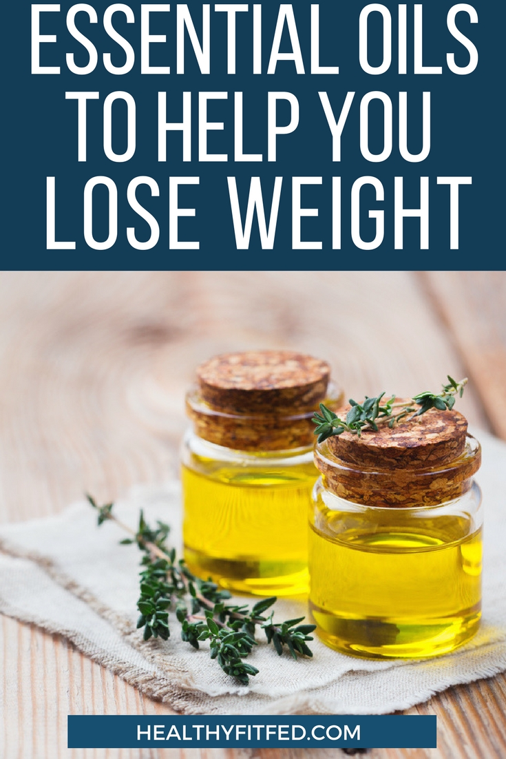 Essential oils to help you lose weight.