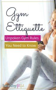 gym etiquette rules
