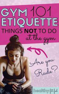 gym etiquette rules you should follow