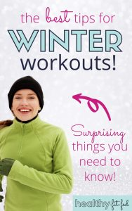 how to stay warm in winter while working out