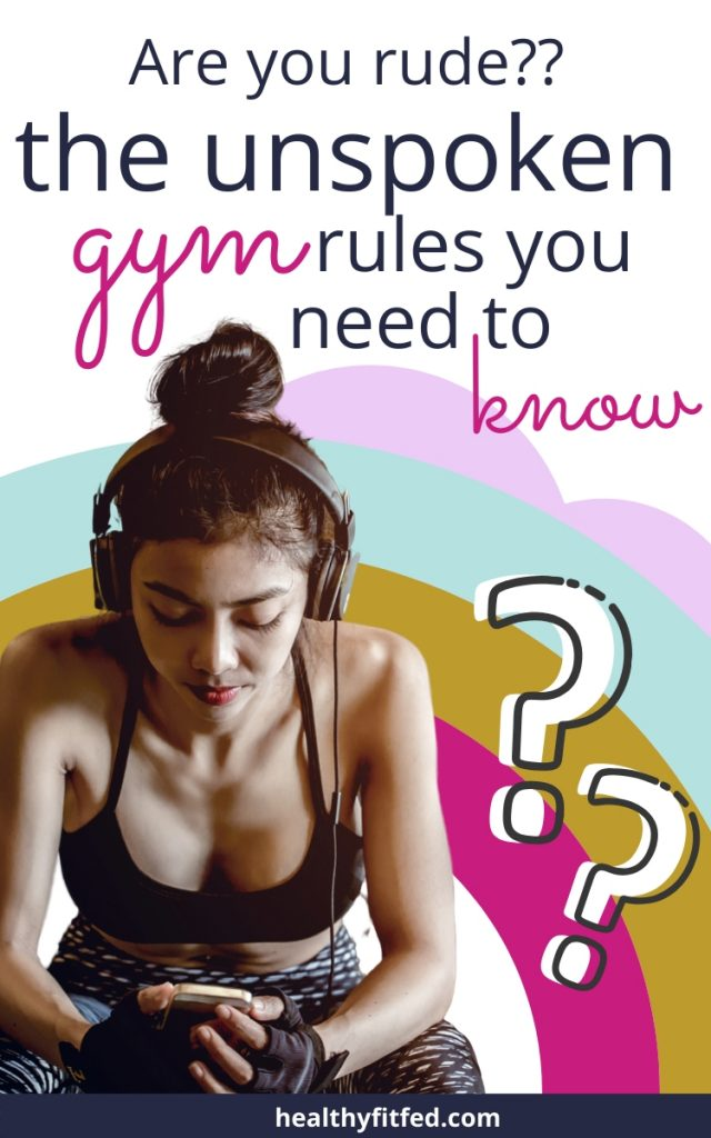 gym rules you should know