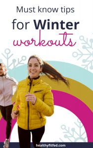 stay warm working out in winter